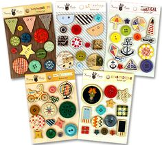 FANCY PANTS DESIGNER BUTTONS.  $6.99 regularly $23 at www.peachycheap.com!