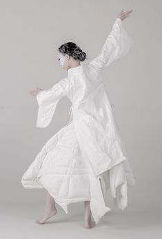 from xuan to blindness by rui xu exhibition at royal college of art - Chinese Ideen Metropolitan Museum, Chinese Style, Chinese Fashion, Ghost Bride, Contemporary Dresses, Royal College Of Art, Asian, London, Hanfu