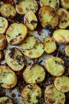 Greek Roasted Potatoes from @heatherchristo for The Pioneer Woman Food & Friends