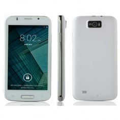 JIAKE JK750 smartphone use 5.0 inch screen, installed Android 4.4 OS with MTK6571 Dual Core processor, has 256MB RAM, 512MB ROM, 2MP front + 5MP rear double camera.