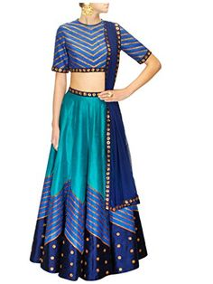 Shoppingover Indian Bollywood Party Wear Lehenga in Raw S... https://www.amazon.com/dp/B01LXJOATV/ref=cm_sw_r_pi_dp_x_SDm4xb7VJJP9W
