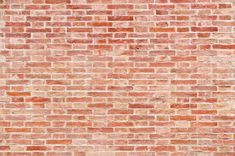 Brick wall red stone background texture