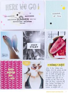 The Heat is ON! by confettiheart at @studio_calico Studio Calico, Crate Paper, Drake, Project Life Layouts, Mini Albums Scrap, Life Page, Pocket Scrapbooking, Life Inspiration, Inspiration Boards