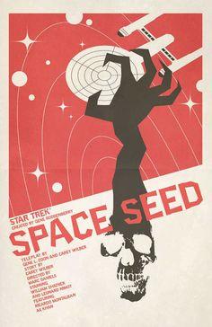 Star Trek Art Print Space Seed