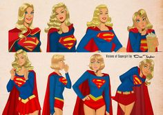 SUPERGIRL Art By Des Taylor — Collection — GeekTyrant