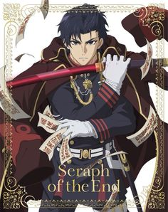 Guren Ichinose | owari no seraph This dude is pushing my limit. At first he seems not so bad. Then he gets weird and cryptic and mean. Now, he claims to be the good guy. WHO ARE YOU!?!?!?