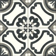 Atlanta Design Handmade cement tile by Original Mission Tile - all cement tiles can be customized to create your own tile according to your project's specs and tile colors