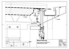 A-02-0010 Anschluss an Stahldach mit Stehfalzeindeckung (Traufe)