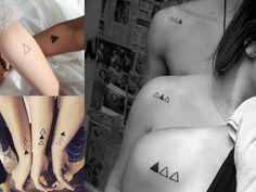 Tatuagem para fazer com as amigas - O mundo de Sane