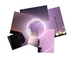 Молниеносные коллажи Кассандры Джонс / Необычные коллажи Кассандры Джонс, на которых запечатлены красивейшие молнии. Будучи совмещенными, фотографии создают движущееся изображение.