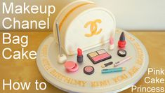 Glam up & serve this gorgeous Chanel Bag Makeup Cake. See how to make this easy makeup cake here. You've seen me make my edible makeup on my cosmetic makeup ...
