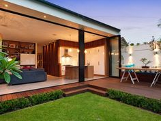 Nice open plan back of house