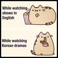 that's true, I always want ramen when I watch Korean dramas