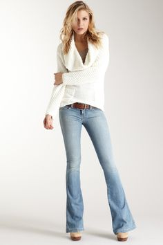 frankie b Limited Edition Famous Bootcut Mid-Rise Jean on HauteLook
