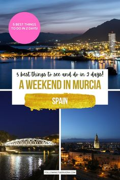 2 Days In Murcia. Plan the perfect weekend to the Spanish city of Murcia with these 5 best things to see and do. | Murcia | Murcia Trip | Weekend Trip | Things To Do In Murcia | What To Do In Murcia | What To See In Murcia | Spain Travel | Spain Trip | Travel To Spain | Trip To Spain | Europe Travel