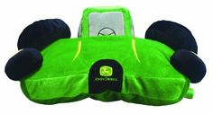 """John Deere Plush Companion Toy Tractor, Green by John Deere. $33.95. This officially licensed John Deere Plush Companion is sure to be a favorite at naptime and at playtime. This tractor toy will lay flat like a pillow or sit upright with hook and loop closure. Measures 14.6"""" x 16.6"""". Brought to you by Scene Weaver, a feel good textiles company creating quality products to add comfort and coziness to everyday life since the late 1990s. From super-soft bamboo and cotton items to ..."""