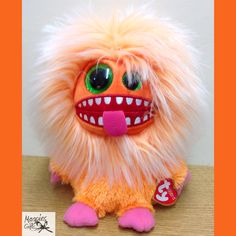 Magpies Gifts, Green And Orange, Purple, Pink, Monsters, Electric, Plush, Bright, Free