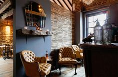 House of Wolf (London, UK) / In House Design - Restaurant & Bar Design The Menu, Trendy Furniture, Design Furniture, Restaurant Design, Restaurant Bar, Design Ppt, Design Art Nouveau, Art Deco, House Of Wolves