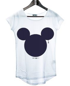 Mickey Mouse silhouette tee