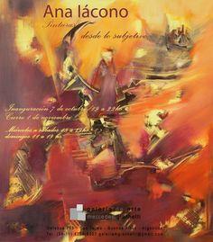 Galeria Mercedes Giachetti  serie  desde lo subjetivo  compuesta de 10 pinturas inspirada en el poema la piedra infinita del poeta mendocino  Jorge Enrique Ramponi