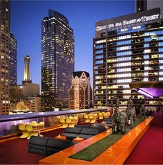 The Rooftop at The Standard, LA - USA