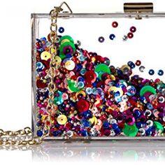 Jessica McClintock Tessa Acrylic Clear Transparent Purse Evening Clutch/Crossbody, Rainbow Dazz24 http://dazz24.com/product/jessica-mcclintock-tessa-acrylic-clear-transparent-purse-evening-clutch-crossbody-rainbow/  Price: & FREE Shipping  #ballgowns