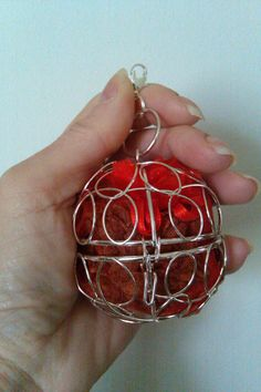 Girdle Belt Pomander - Silver or Gold (Use as a Christmas Ornament or Car Sachet too)