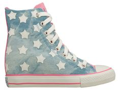 Starry Skies High Top Sneakers via Daddy's Money Skechers Mens Shoes, Shoe Gallery, Dream Shoes, School Fashion, Shoe Collection, Girls Shoes, Fashion Shoes, Girl Fashion, Converse Chuck Taylor