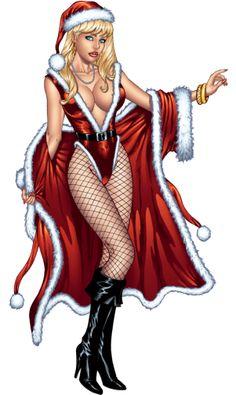 Girls Image, Pin Up Girls, Santa Claus Girls, Girly Man, Holiday Cartoon, Happy New Year Greetings, Anime Girl Drawings, Man Images, Carnival Costumes