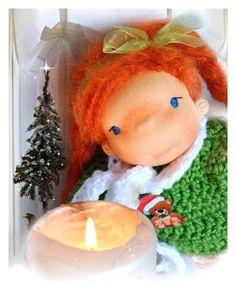 Waldorf doll doll waldorf steiner doll by Fairybugcreativetoys