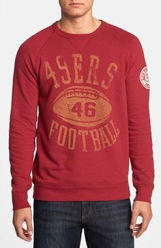 Junk Food 'San Francisco 49ers - Field Goal' Sweatshirt. #onlineshopping #49ers #nfl #gifts #christmas #blisslist Buy it on BlissList: https://itunes.apple.com/us/app/blisslist-easy-shopping-gifting/id667837070