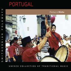 These 1998 on-site recordings of two pilgrimages in northwestern Portugal capture the rich and varied music of the streets, squares, and pilgrimage sites of the Minho region at the end of the 20th century. Percussion ensembles, brass bands, intricate poetry and sung poetic competitions, concertina and stringed instrument-based ensembles, and the strong sound of women's voices are all characteristic of this region of Portugal. Portugal, Brass Band, Percussion, Pilgrimage, Minho, New Life, Squares, The Voice, Competition