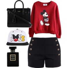 Untitled #358 by evanmonster on Polyvore featuring polyvore fashion style Chloé Yves Saint Laurent Chanel