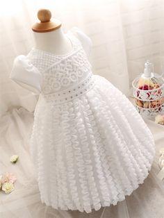 e04007b4ff8c13 US $17.98 |Kid Meisje 1 Jaar Verjaardag Jurk Babykleding Merk Ceremony  Party Jurken Voor Meisje Wedding Doopjurk Pasgeboren Bebes Vestidos in Kid  Meisje 1 ...