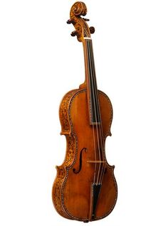 Violin makers are still stumped as to why the Stradivarius instruments are so difficult to replicate - both in terms of their sound, and design. Perhaps it had something to do with Stradivari's incredible carving skill, demonstrated here on the edges of the Cipriani Potter violin.