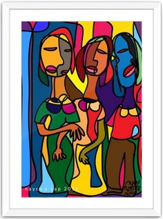 The 3 ladies Digital art