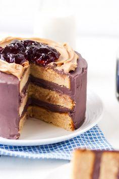PB & J Cake | Community Post: 16 Glorious Ways To Eat PB & J