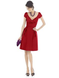 Even if this is the bridesmaid dress we go with (in gray or purple), I might still buy this dress...