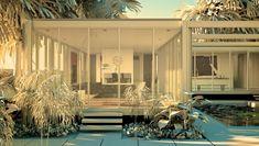 Daphne House, Hillsborough, California, 1960–61 (render)