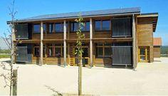 1500 euros HT du m2 pour un bâtiment tertiaire passif et positif en Poitou-Charentes