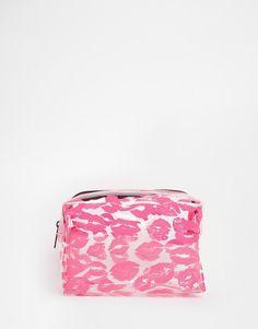 ASOS | ASOS Kisses Clear Makeup Bag at ASOS