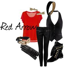 How to dress like Red Arrow from Young Justice