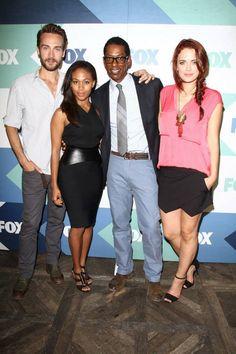 The SLEEPY HOLLOW cast at the 2013 FOX SUMMER TCA on Thursday, August 1.