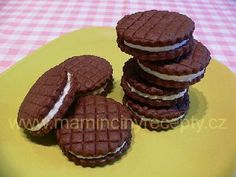 Sušenky á la Oreo Oreos, Cookies, Cake, Food, Crack Crackers, Food Cakes, Eten, Cookie Recipes, Cakes
