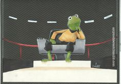 """OMG   """"To boldly go where no frog has gone before"""" All credit to Amy Mebberson. She's brilliant."""