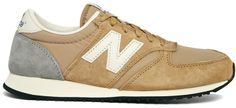 New Balance Camel 420 Trainers - Beige on shopstyle.com