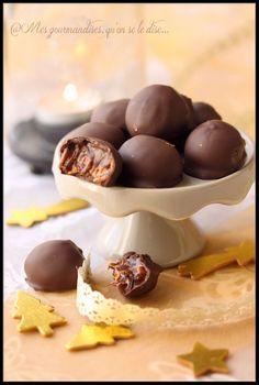 rochers croquants chocolat caramel au beurre salé