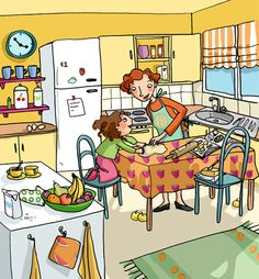 Picture Story Writing, Children's Book Illustration, Illustrations, Picture Comprehension, Kindergarten Anchor Charts, Art Deco Cards, Critical Thinking Activities, Picture Composition, Hidden Pictures
