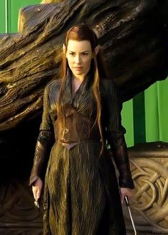 Tauriel...non canon character (except for the movies)