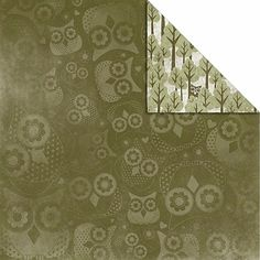 """Kaisercraft What A Hoot Double-Sided 12"""" x 12"""" Paper"""
